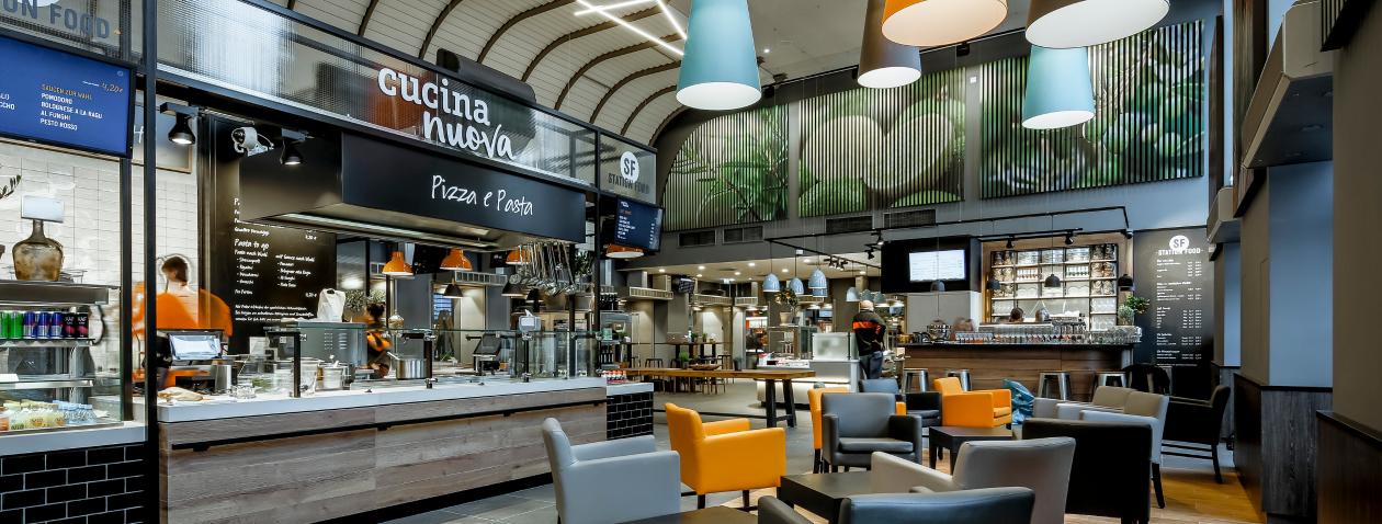 Karlsruhe, Station Food, Hauptbahnhot, Standort